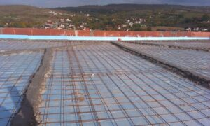 Lucrare hidroizolatie EPDM terasa acoperis vila Iasi 2