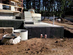 Hidroizolatie fundatie vila – Otopeni
