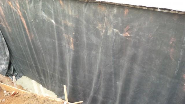 Lucrare hidroizolatie fundatie – Calea Mosilor