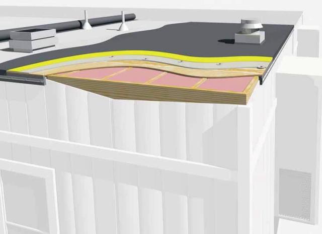 Izolatii containere modulare