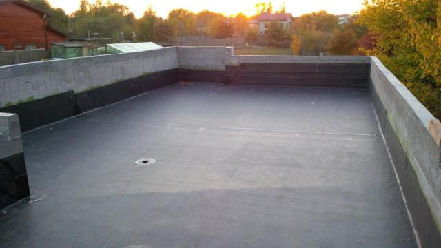 Hidroizolatie terasa Izvorani